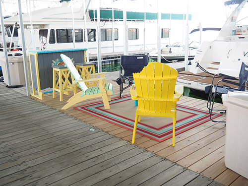 Custom Dock Patio