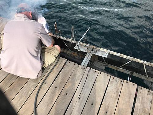 Dock Welding